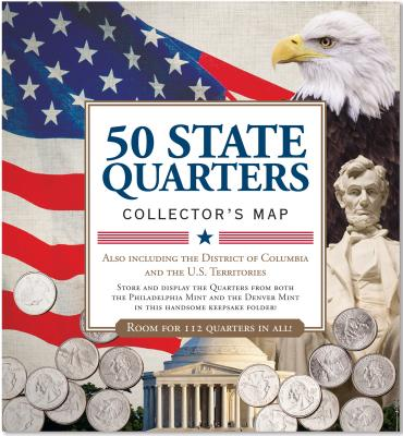 50 State Quarters Collector Map By Lindroth, David (EDT)
